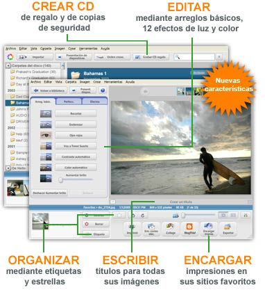 ORGANIZA TUS FOTOS Y VIDEOS